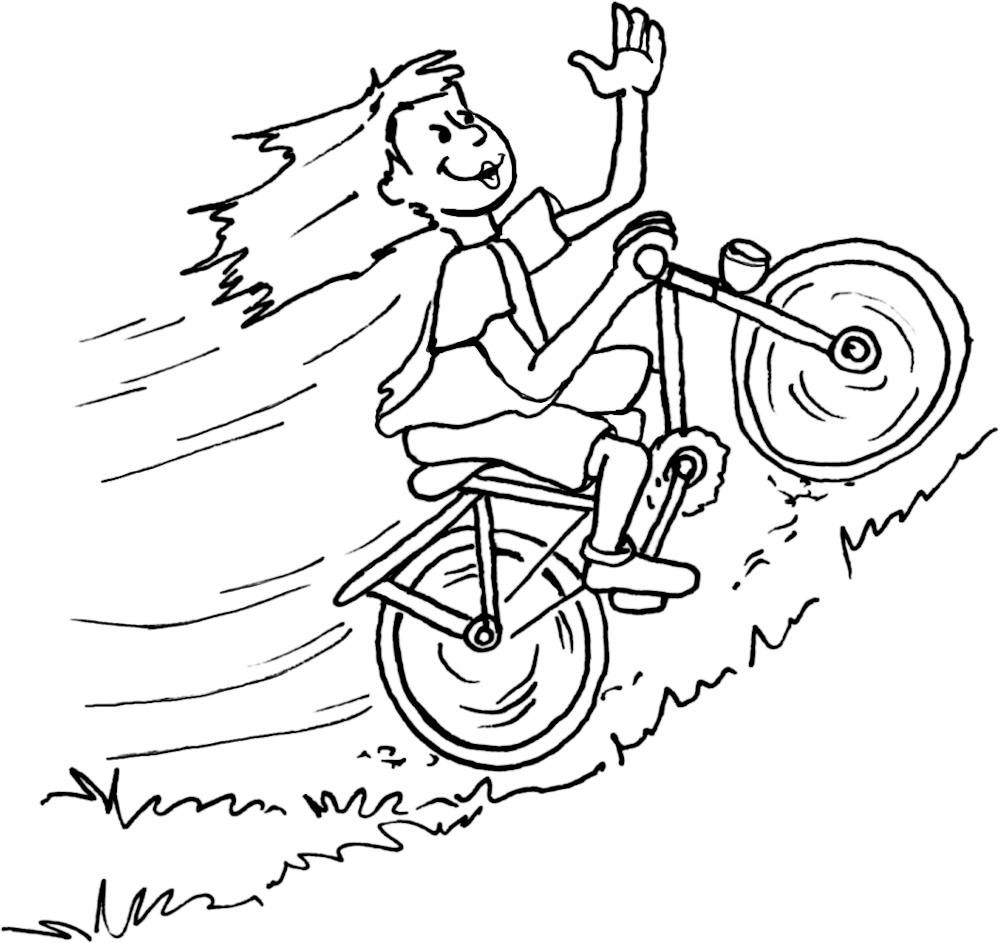 Fahrradbergauf