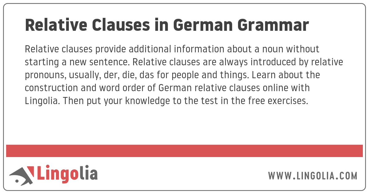 sentence deutsch