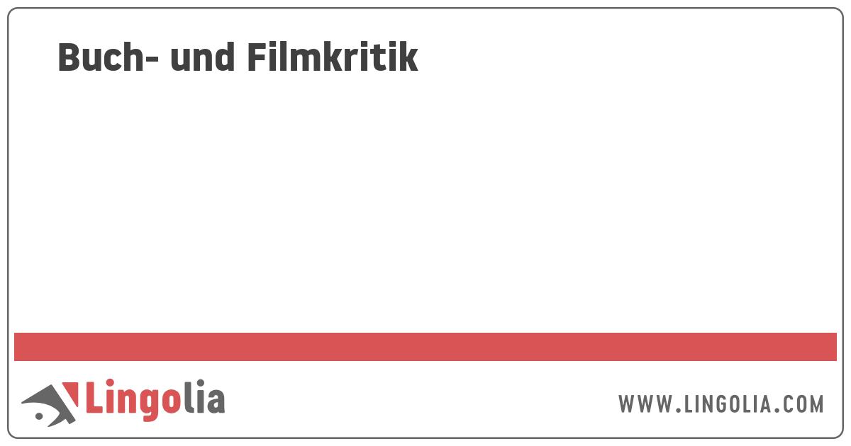 Buch Und Filmkritik